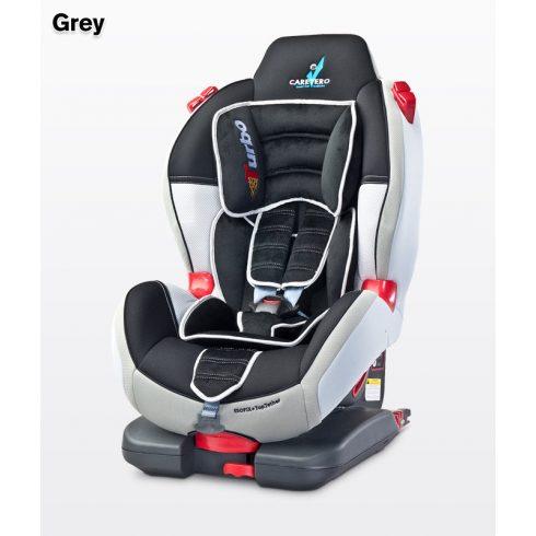 Caretero Sport TurboFix Isofix 9-25 kg gyerekülés Grey