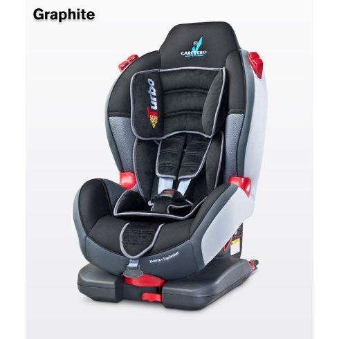Caretero Sport TurboFix Isofix 9-25 kg gyerekülés Graphite