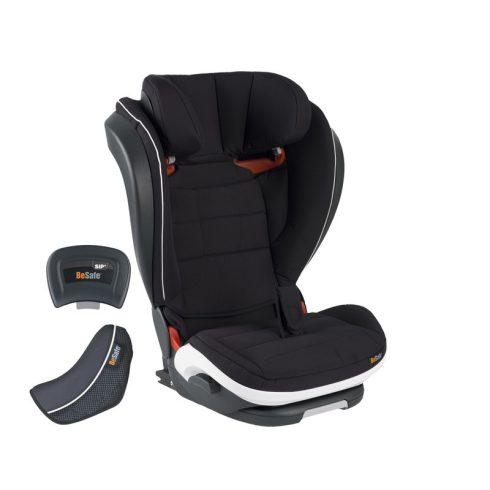BeSafe iZi Flex FIX i-Size gyerekülés 64 Fresh Black Cab