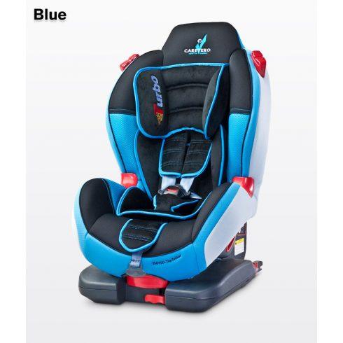 Caretero Sport TurboFix Isofix 9-25 kg gyerekülés Blue