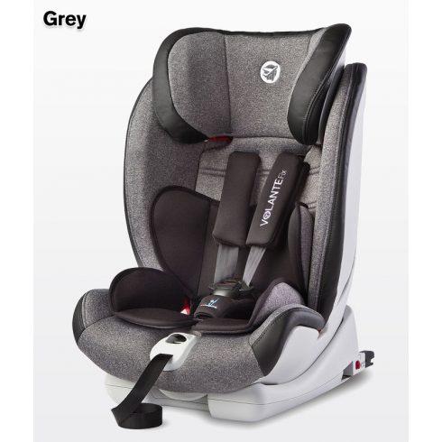 Caretero Volante Isofix Limited 9-36 kg gyerekülés Grey