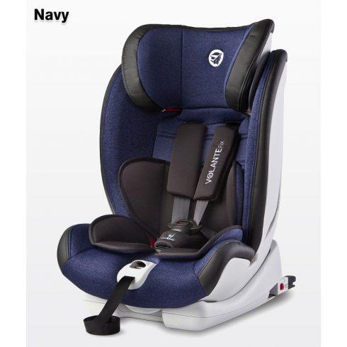 Caretero Volante Isofix Limited 9-36 kg gyerekülés Navy